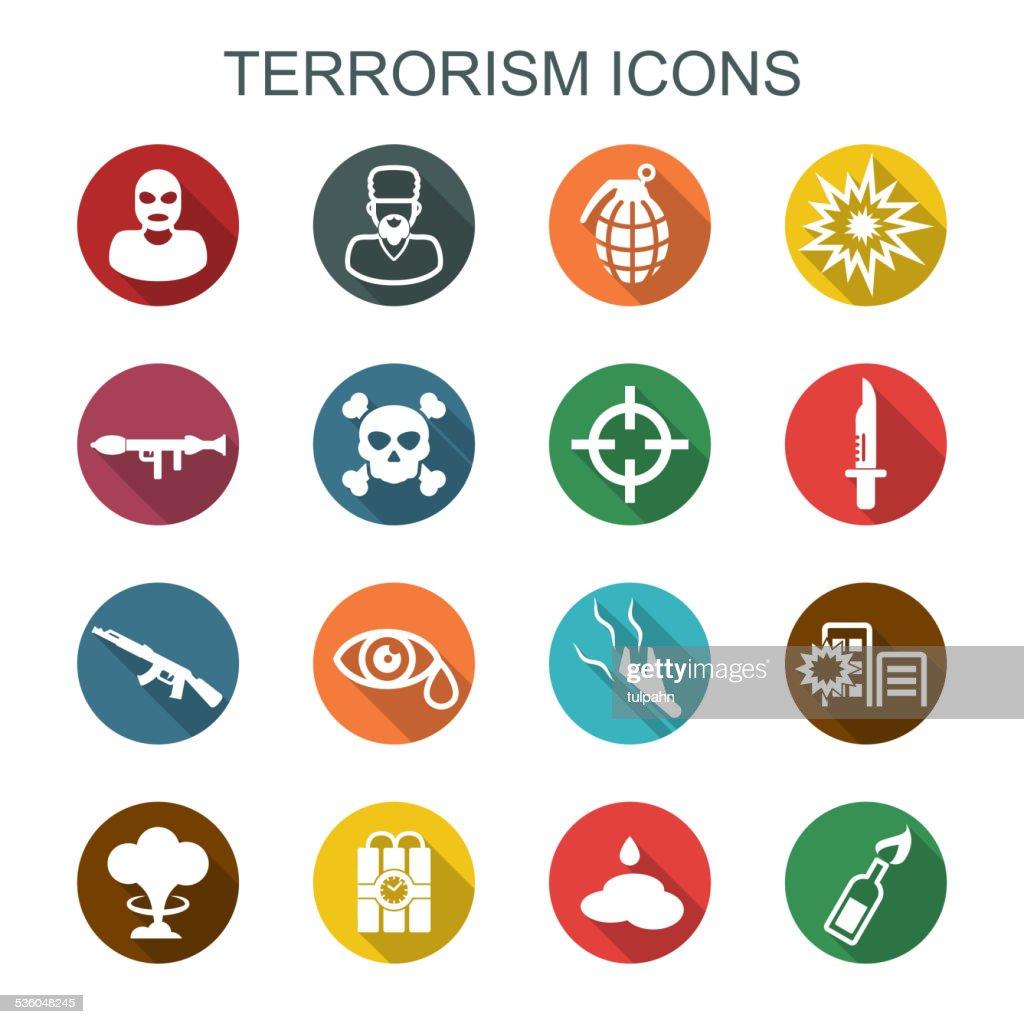 terrorism long shadow icons