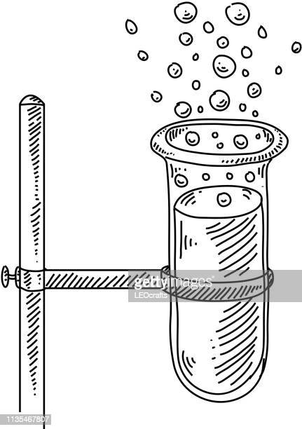 Test tube Drawing