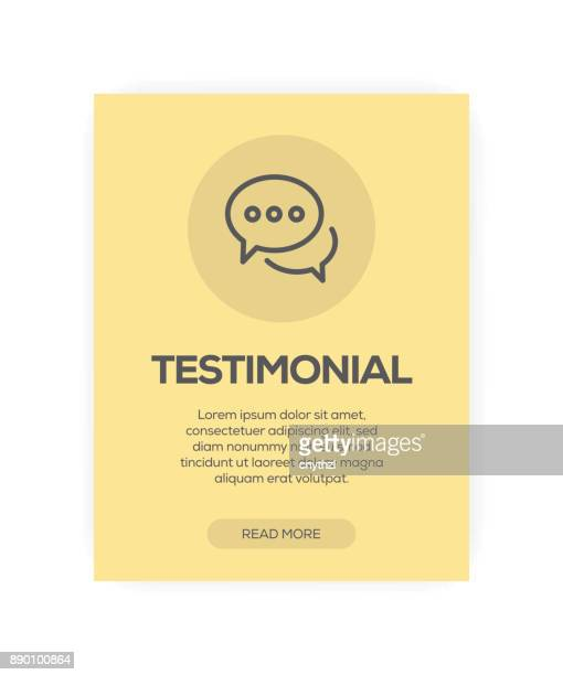 testimonial concept - testimonial stock illustrations, clip art, cartoons, & icons
