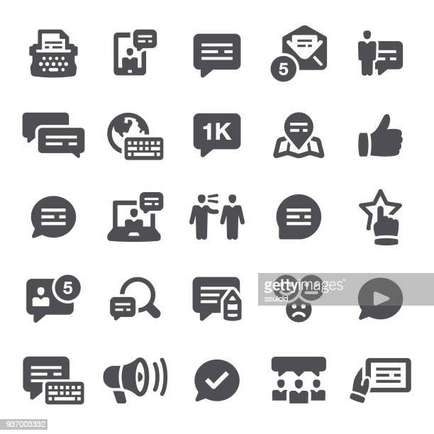 testimonial icons - testimonial stock illustrations, clip art, cartoons, & icons