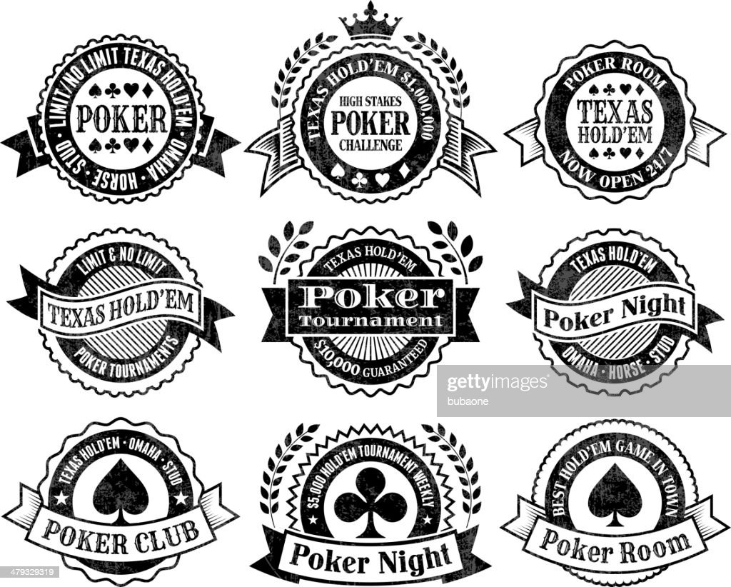 texas holdem poker chips cards and gambling vector