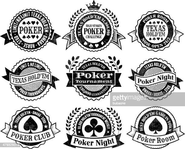 texas hold'em poker chips cards and gambling vector graphics - great seal stock illustrations, clip art, cartoons, & icons