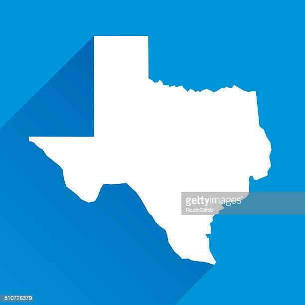 テキサスのアイコン - 米メキシコ湾沿岸点のイラスト素材/クリップアート素材/マンガ素材/アイコン素材