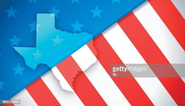 texas patriotische flagge hintergrund - arlington texas stock-grafiken, -clipart, -cartoons und -symbole