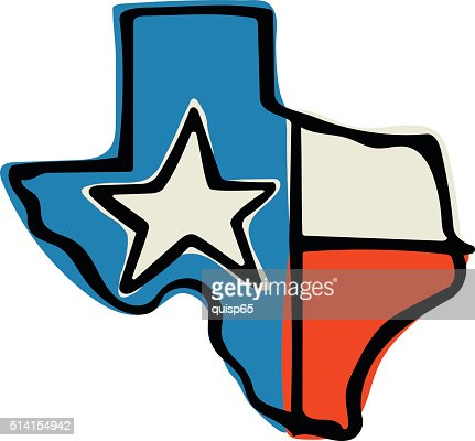 texas state flag doodle vector art | getty images