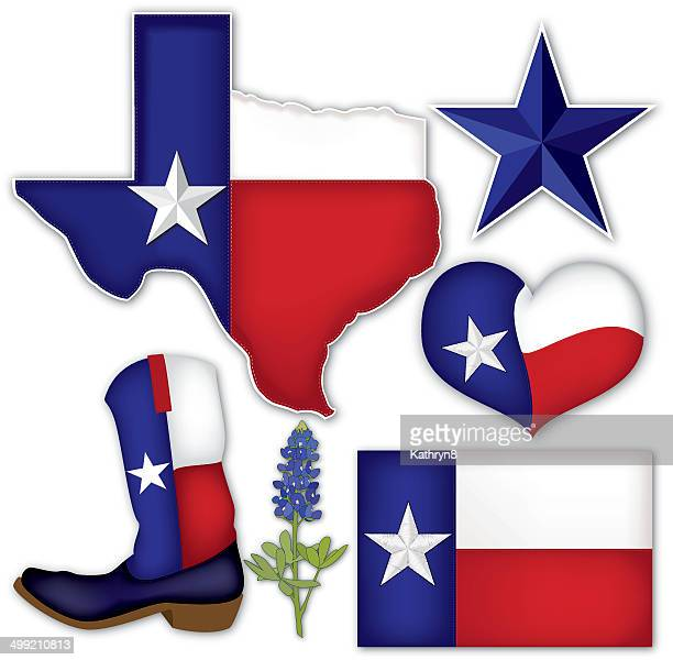 texas things - texas stock illustrations