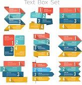 Text box set