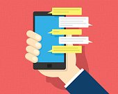 SMS Text Message on Smartphone