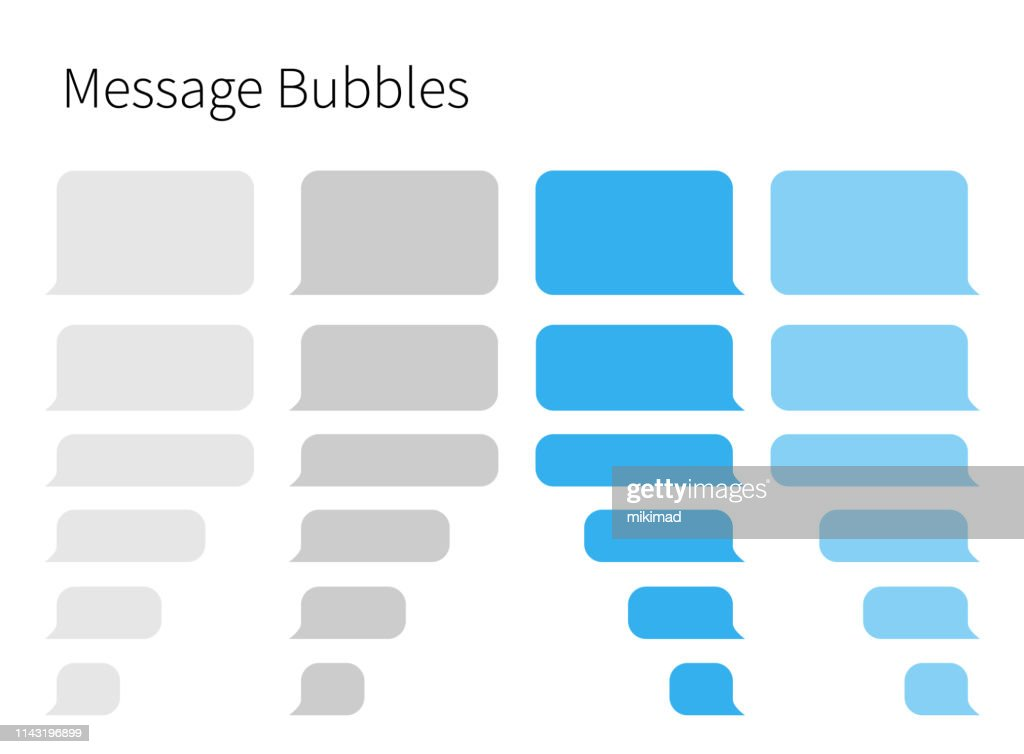 Mensajes de texto. Smartphone, ilustración vectorial realista : Ilustración de stock
