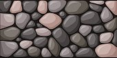 Texture of stone blocks. Vector illustration