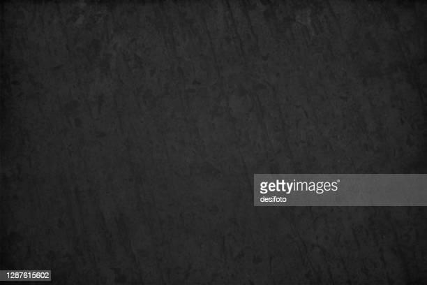 strukturierte schwarz gefärbte grunge alte vektor hintergründe, die einem schieferfelsen oder tafel ähneln - schwarzer hintergrund stock-grafiken, -clipart, -cartoons und -symbole
