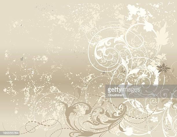 Strukturierte Scroll Hintergrund