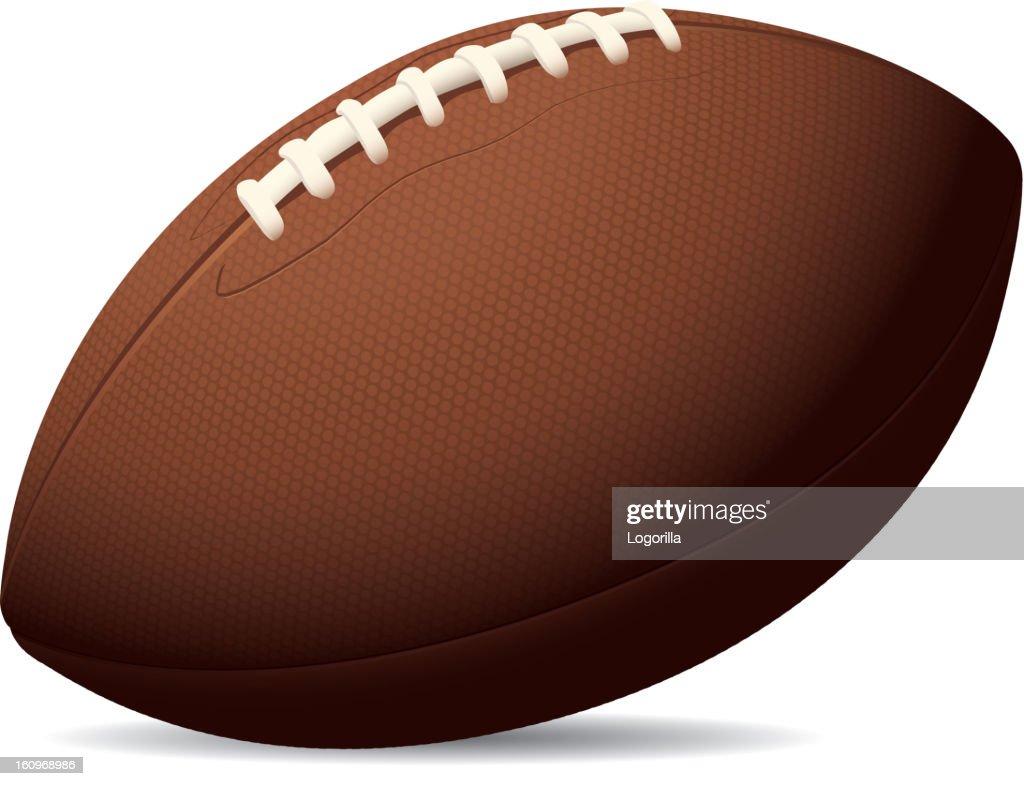 Textured US Football