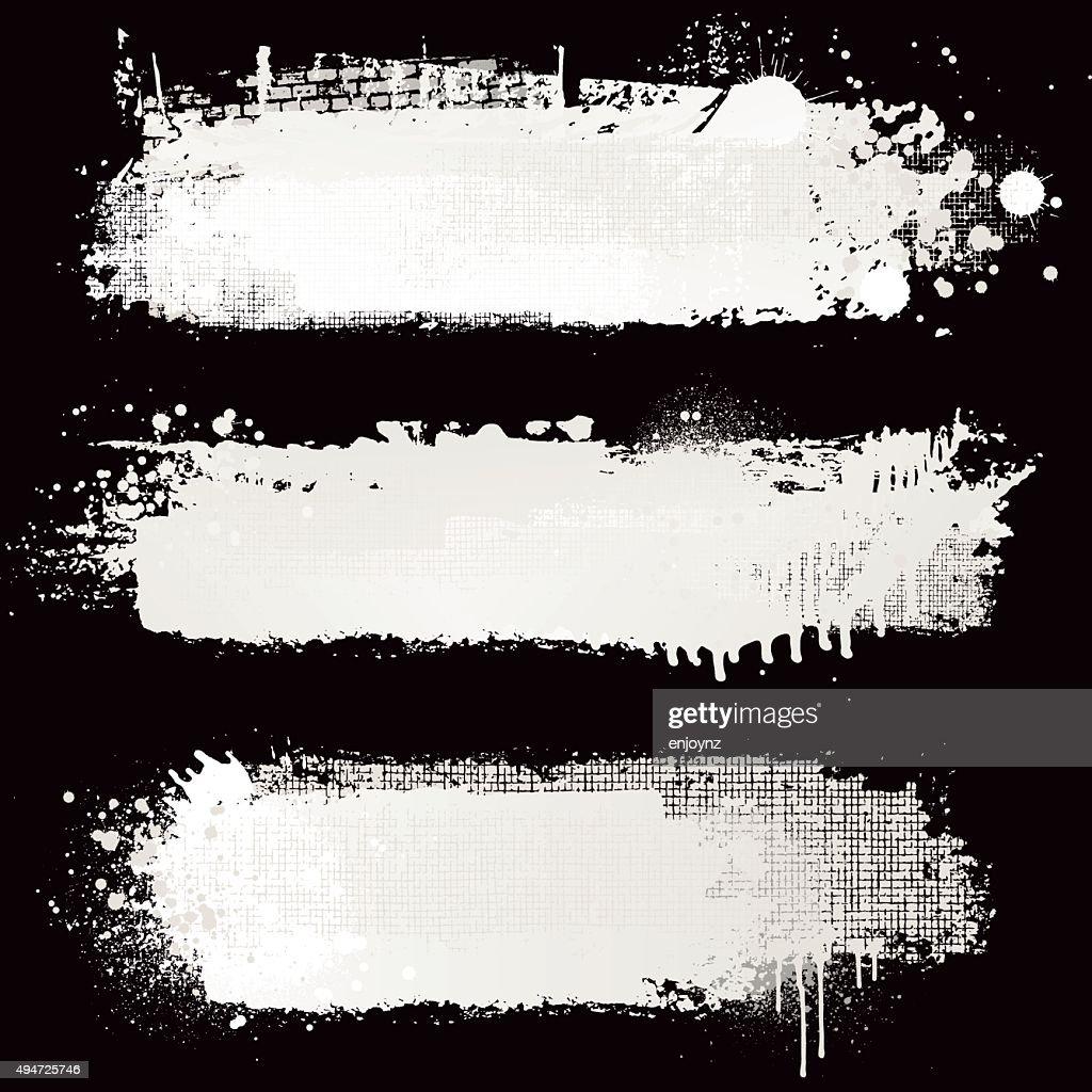 Strukturierte weißer Farbe Hintergründe : Stock-Illustration