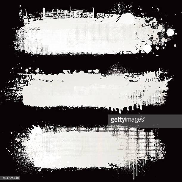 textured white paint backgrounds - white stock illustrations