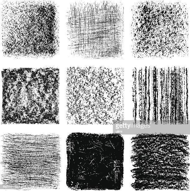 textures - crayon stock illustrations
