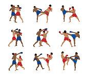Thai boxing set