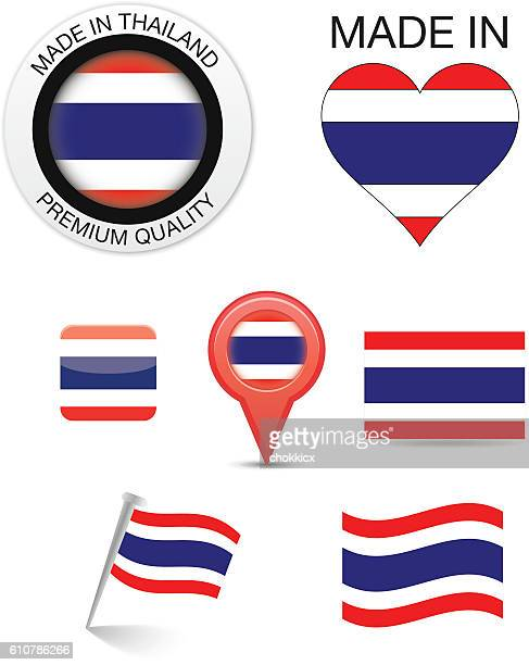 Thai Flag Icons