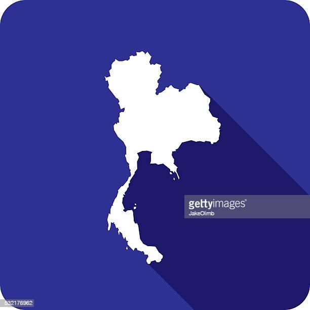 Icône de Silhouette de Thaïlande