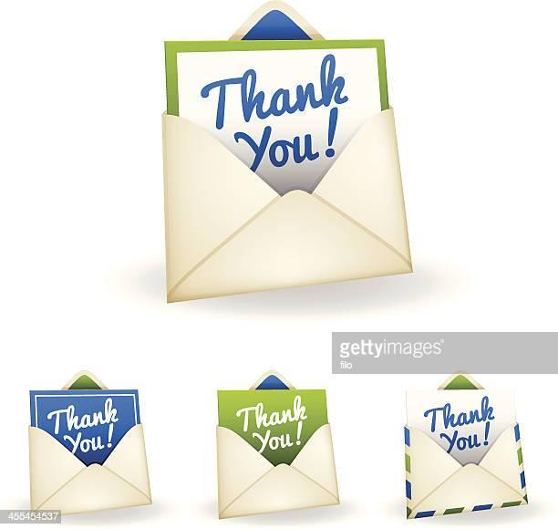 カードありがとうございました。 - thank you点のイラスト素材/クリップアート素材/マンガ素材/アイコン素材
