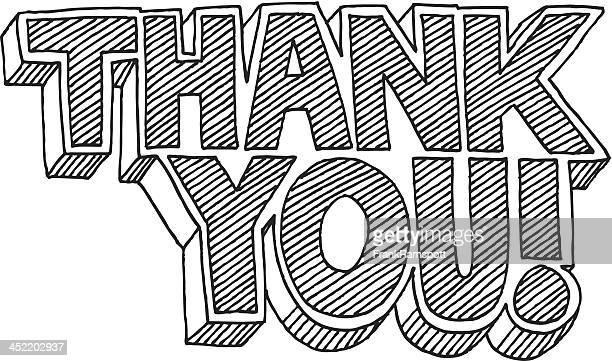 ありがとうございました。漫画スタイルのテキストの描出 - thank you点のイラスト素材/クリップアート素材/マンガ素材/アイコン素材