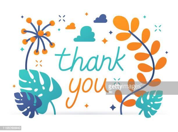 ありがとうメッセージ - thank you点のイラスト素材/クリップアート素材/マンガ素材/アイコン素材