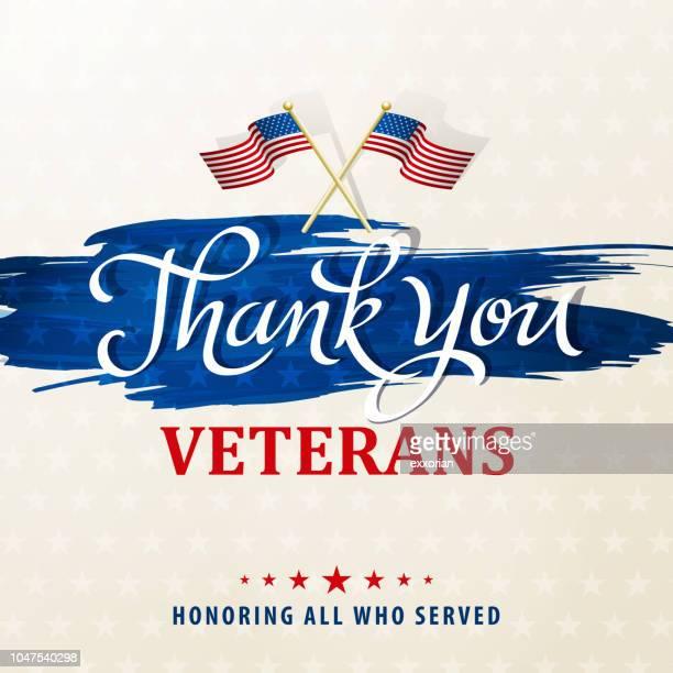 Je vous remercie des vétérans