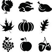 Thanksgivin Icons