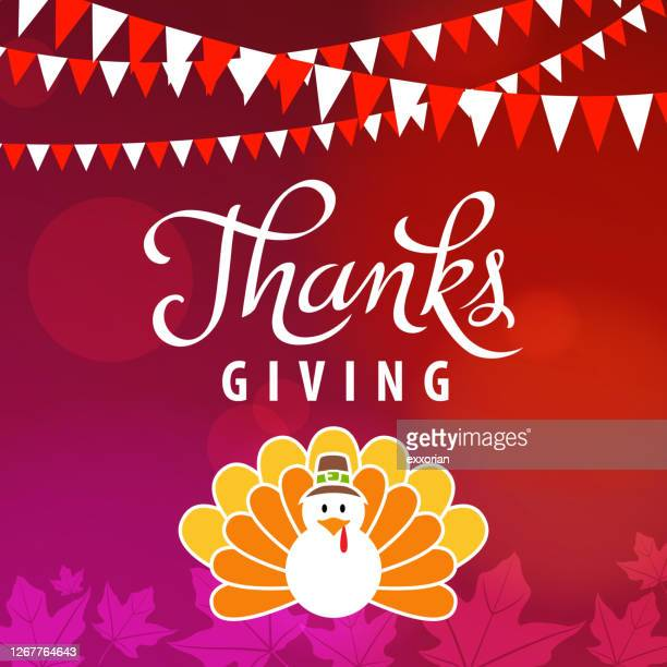 thanksgiving canada with turkey - canadian thanksgiving stock illustrations