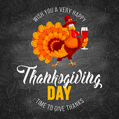 Thanksgiving day greeting