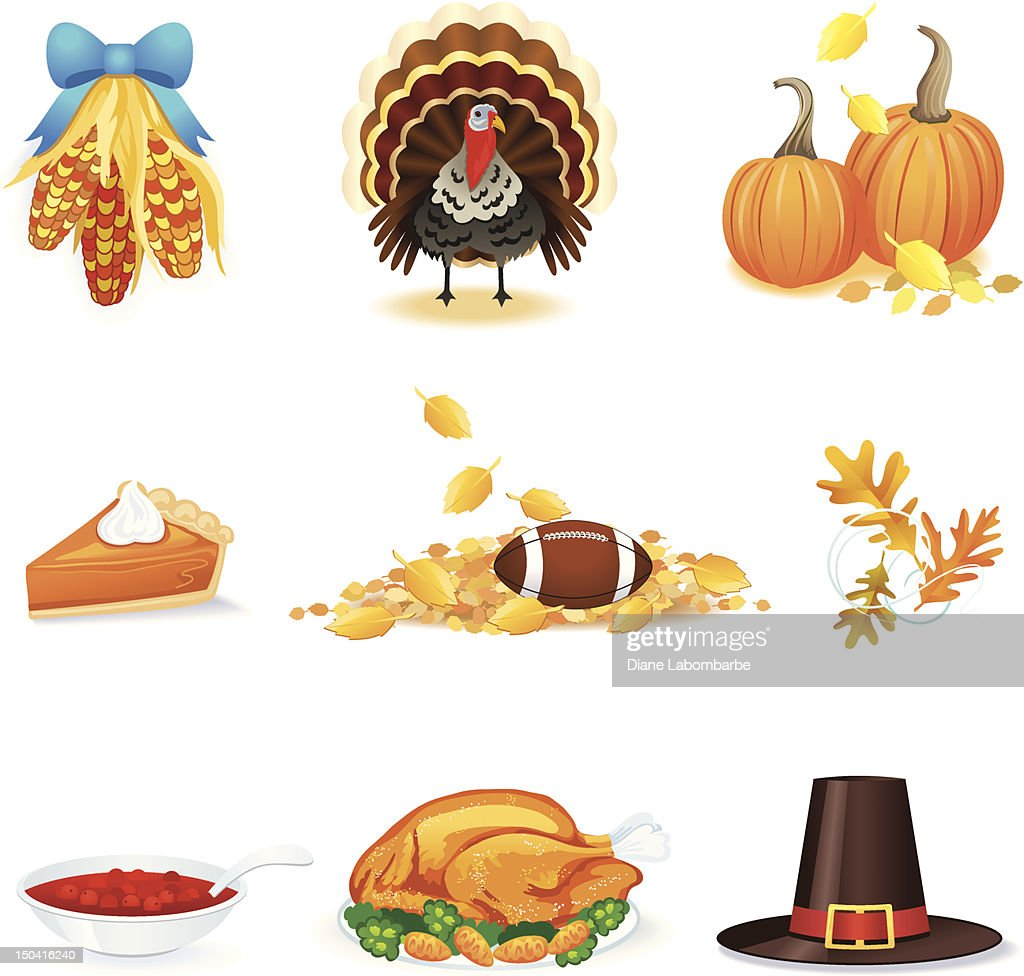 thanksgiving day icons and pictures