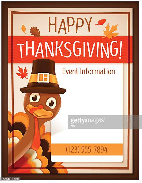 Thanksgiving Event Poster