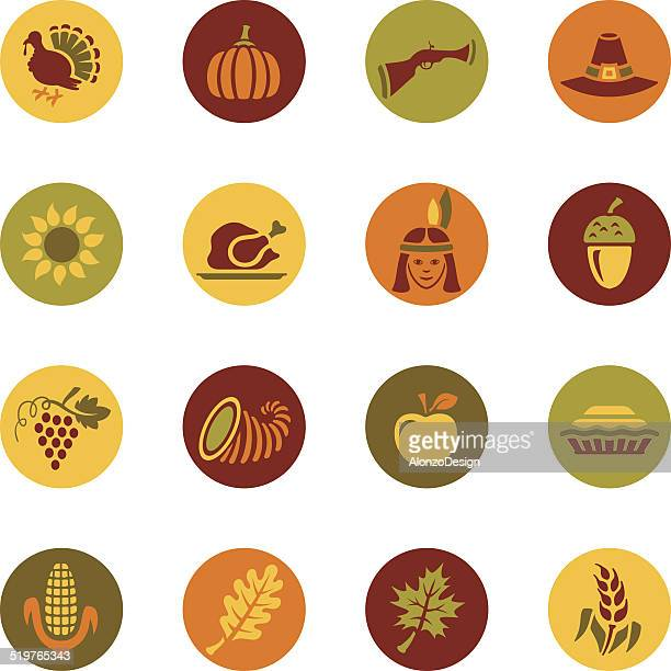 Thanksgiving Icon Set