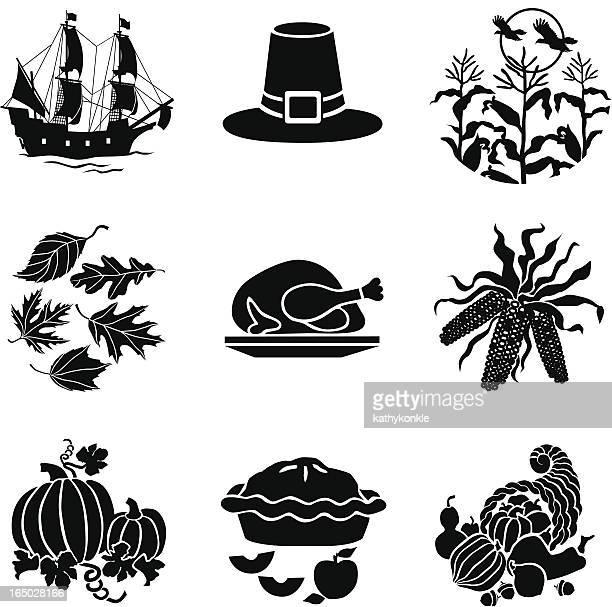 Thanksgiving icons