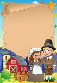 Thanksgiving theme parchment 4