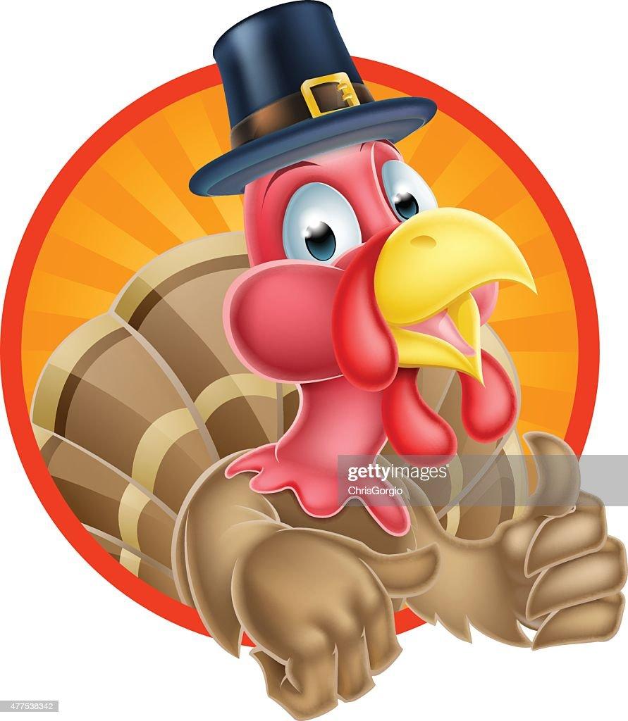 Thanksgiving Thumbs Up Turkey