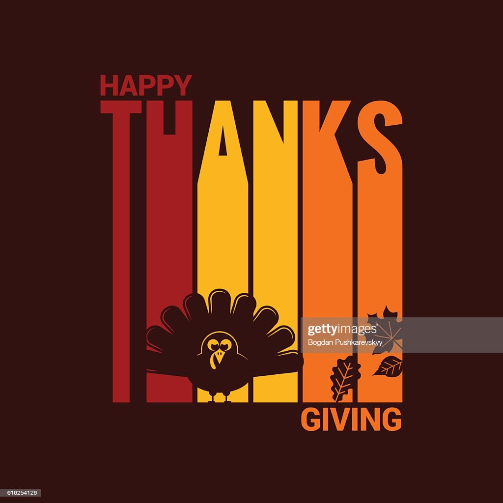 Thanksgiving turkey abstract background : Arte vetorial