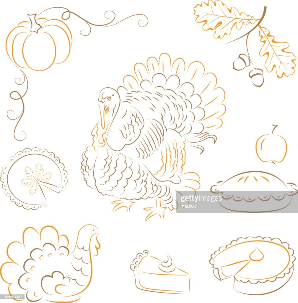Thanksgiving : stock illustration