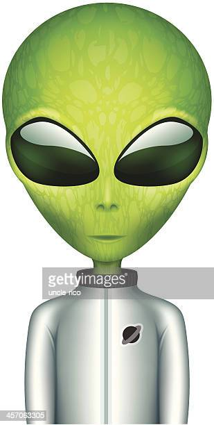 The Alien no spacesuit personagem