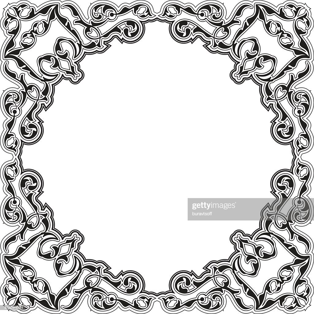 the art brilliant victorian frame vector art getty images rh gettyimages com victorian oval frame vector victorian picture frame vector