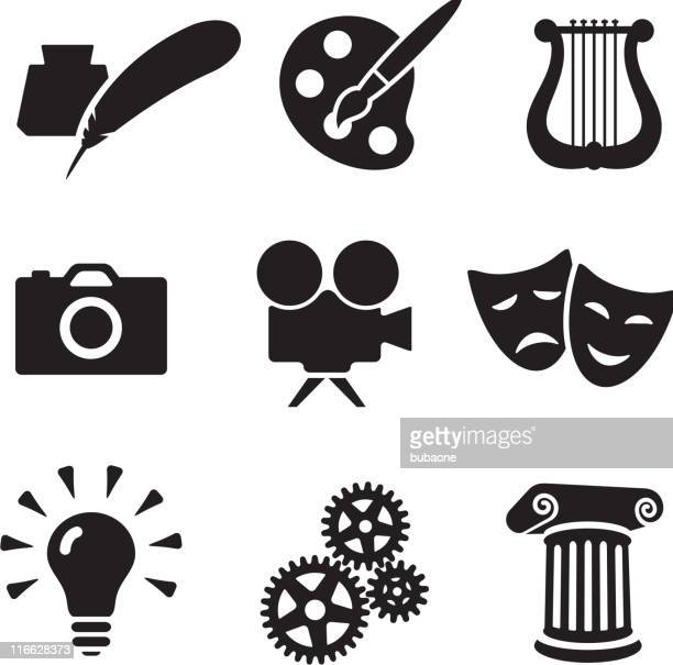 the arts conceptual royalty free vector arts - poetry literature stock illustrations