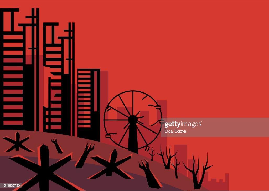 the besieged city