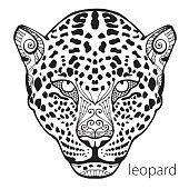 The black and white leopard print with ethnic patterns.