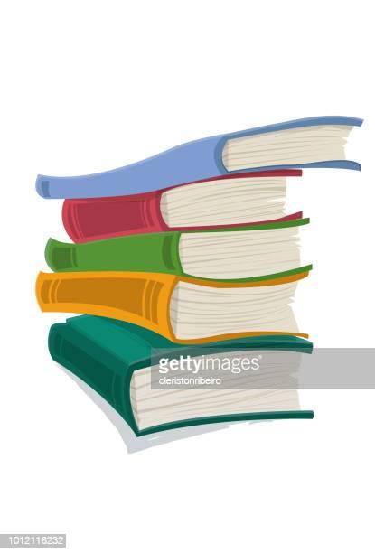 ilustrações, clipart, desenhos animados e ícones de a livros - biblioteca