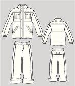 The boy's suit