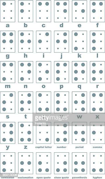 the braille system - diabetic retinopathy stock illustrations