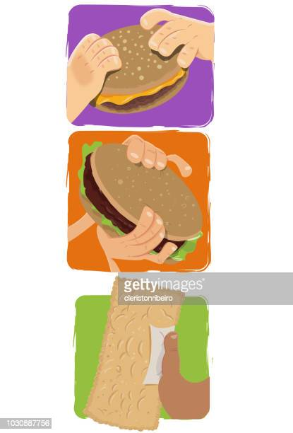 The Burger and pastel