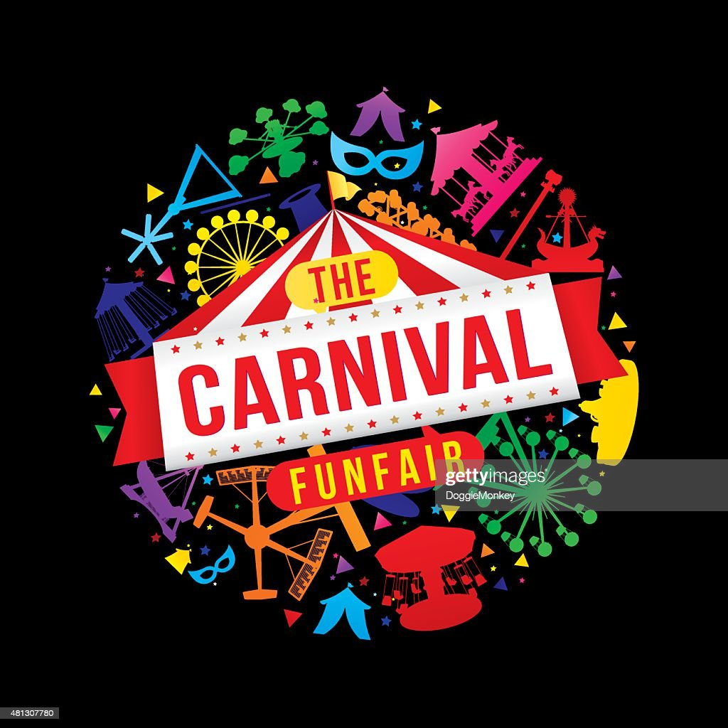 The carnival funfair and magic show