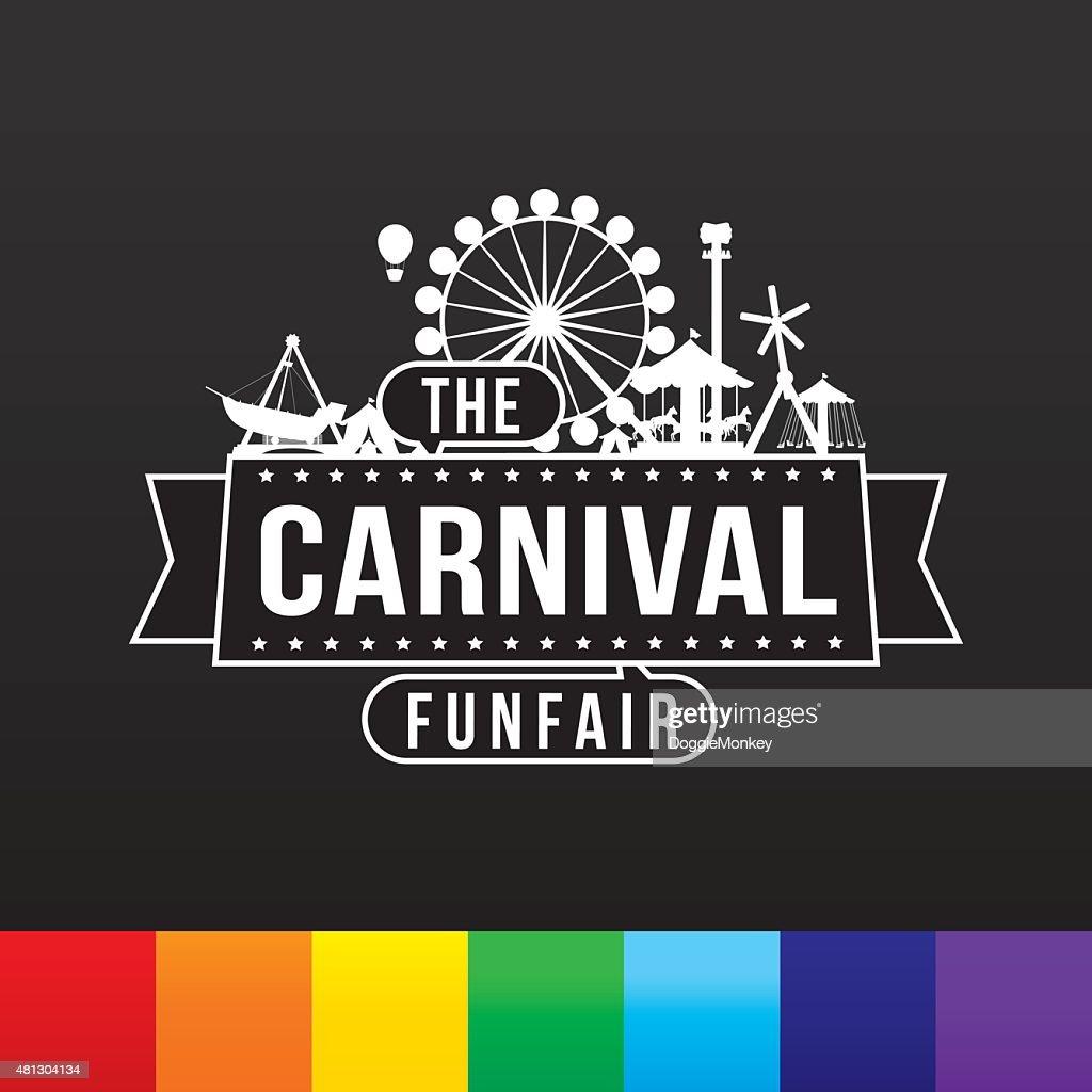 The carnival funfair