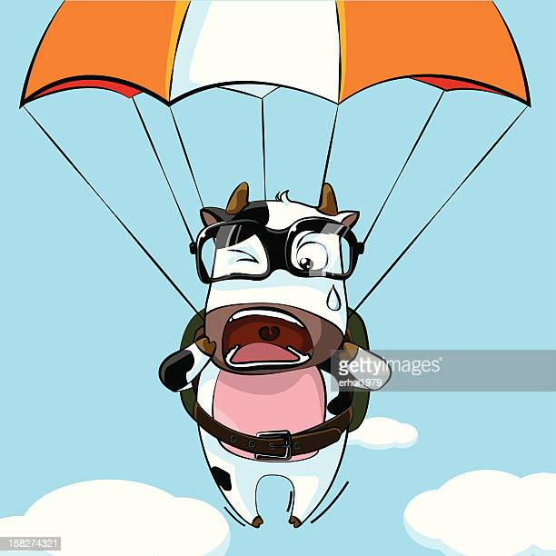 Illustrations et dessins anim s de parachutisme en chute - Dessin parachutiste ...